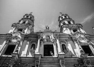 B&W Église - Buenos Aires