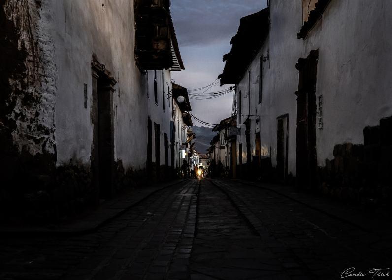 Tombée du soleil - Cuzco