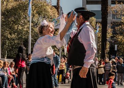 Danseurs à Mendoza