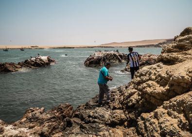 Pêcheurs - Péninsule de Paracas