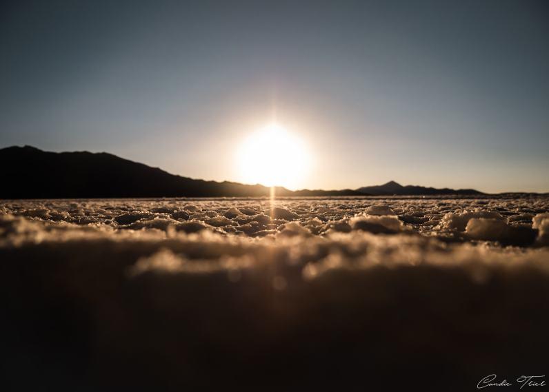 Coucher de soleil - Salar d'Uyuni
