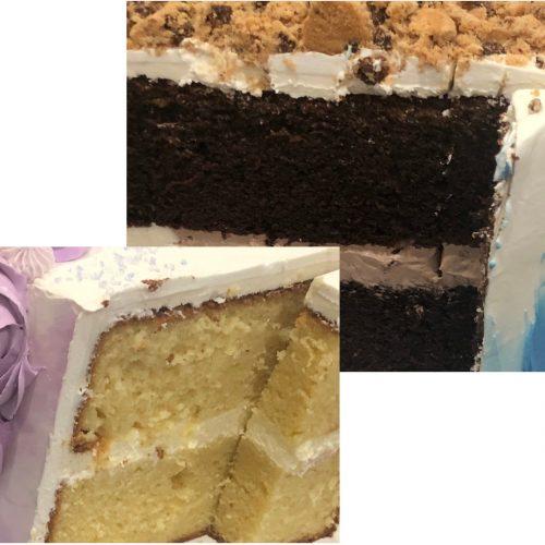 cake flavor photo edit