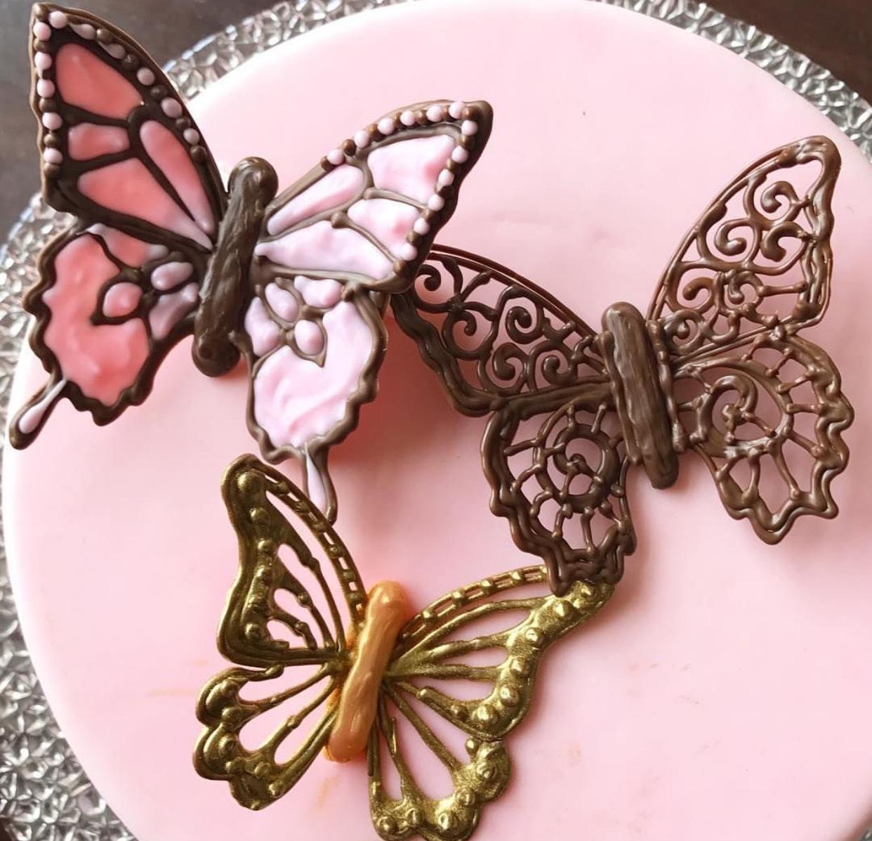 Çikolatadan Kelebekler