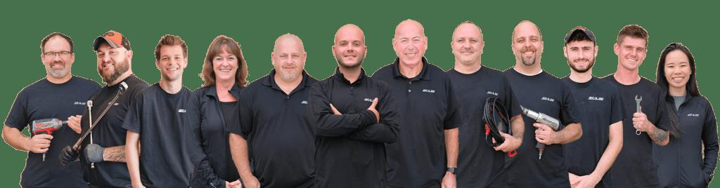 C&J Automotive Specialists Berwyn And Newtown Square Team Photo