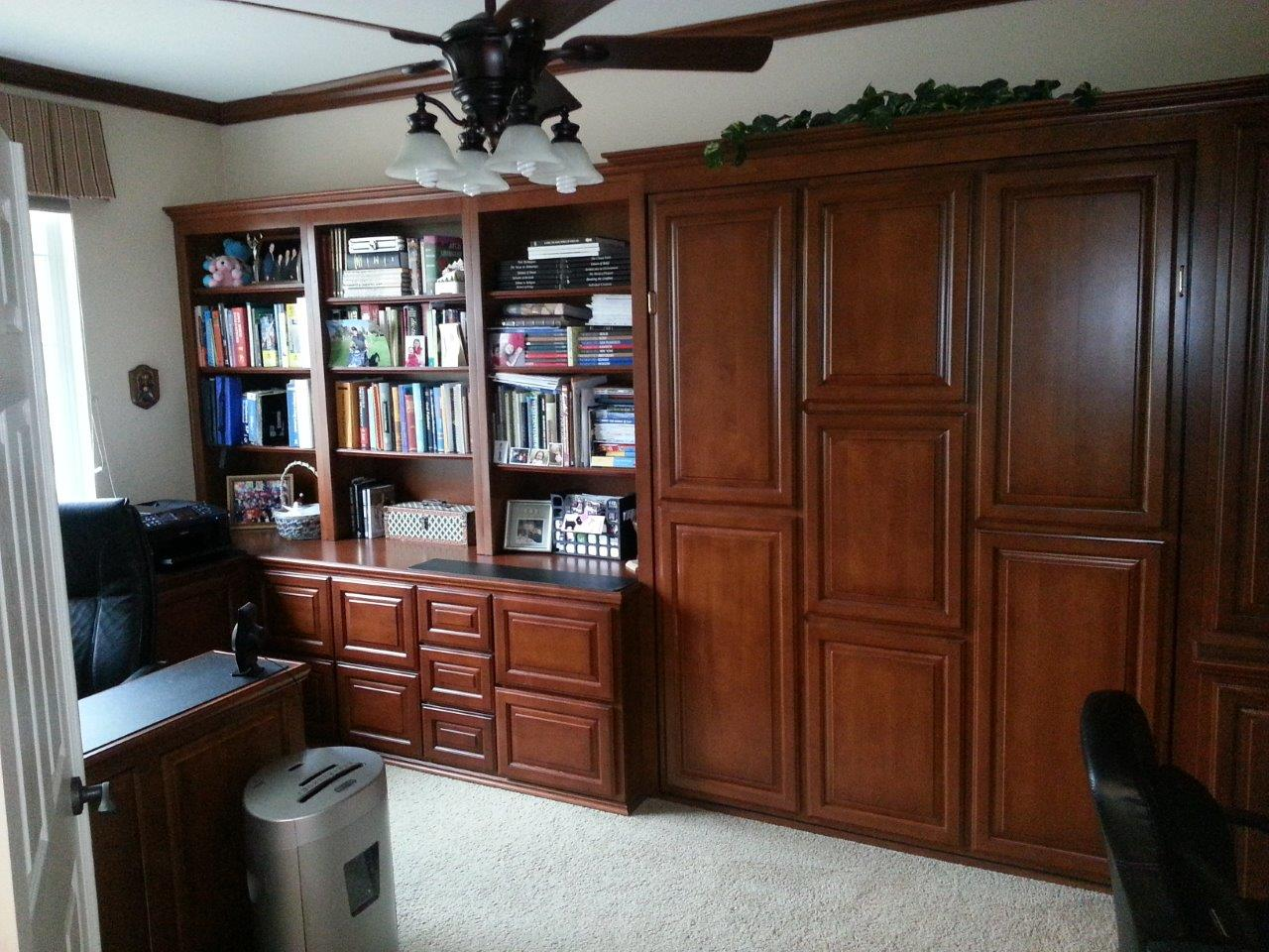 Murphy Bed And Office Combo