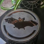bat candle topper