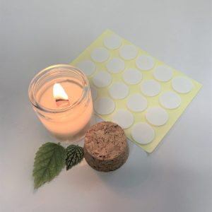 wick stickers for candle making