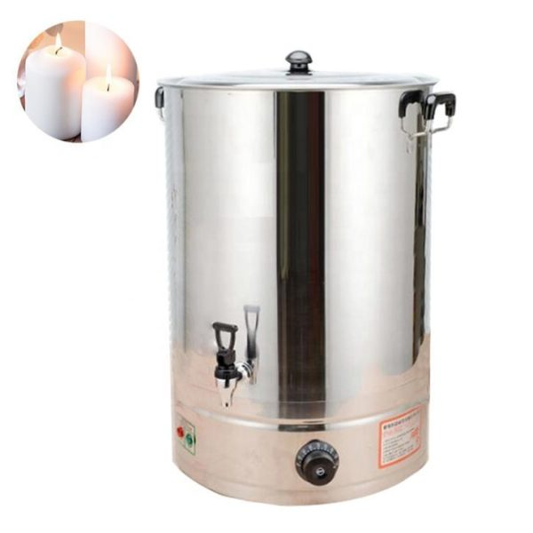 Electric candle making pot