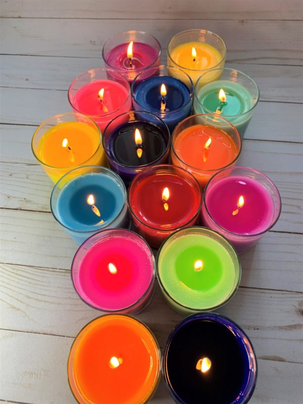 dye chips used in candle making for dyeing candles