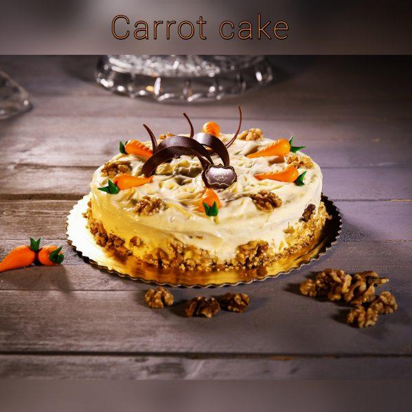κερί σόγιας carrot cake