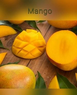κερί σόγιας μάνγκο