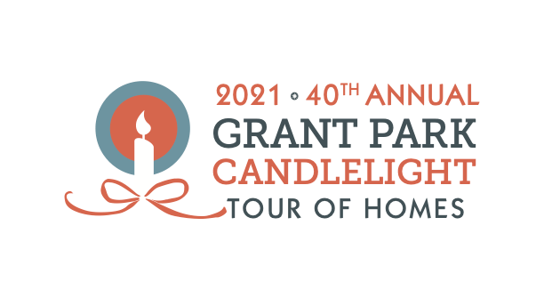 2021 40th Annual Grant Park Candlelight Tour of Homes Logo