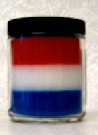 american layered candle
