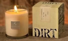 Dirt Candles