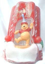 Pooh Candle