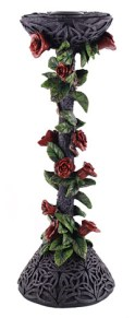 gothic rose candle