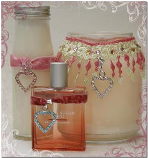 Valentine candle jar decoration ideas candle making for Candle craft ideas