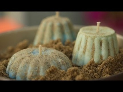 Citronella Sand Candles