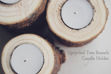 Pine Tree Candle Holders @ Craft Gossip