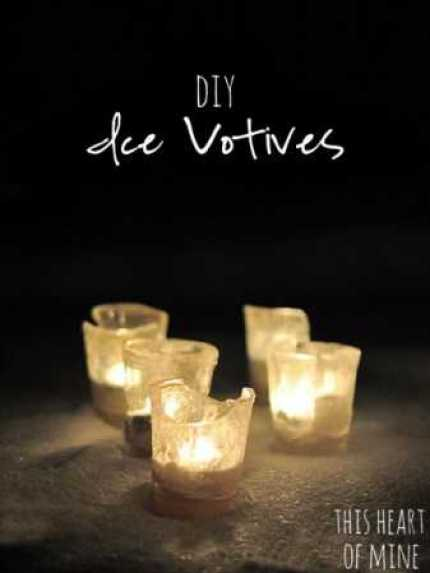 DIY Ice Votives @ Craft Gossip