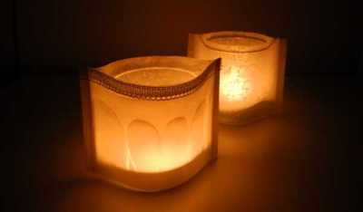 Tracing Paper Votives @ Craft Gossip