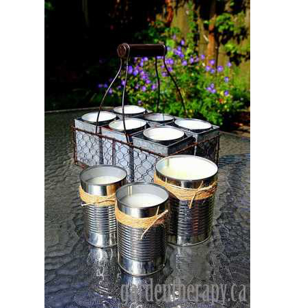 Citronella Candle DIY