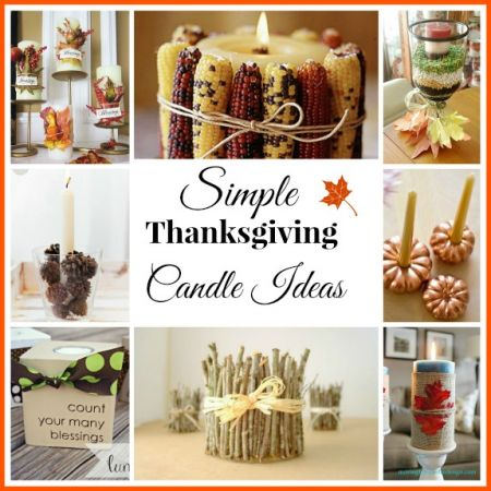 13 Thanksgiving Candle Ideas