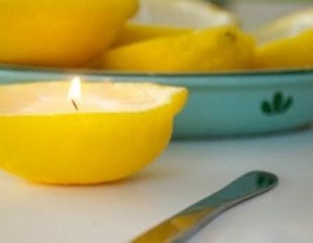 lemon candles