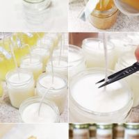 Soy Candle Tutorial and Free Printables