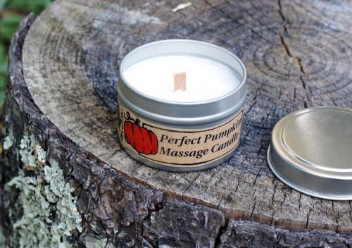 DIY Pumpkin Spiced Massage Candle