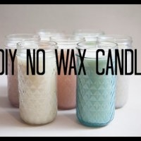 How To Make Candles Without Wax