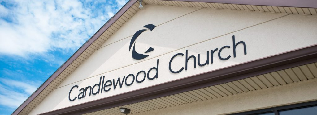 candlewood church sign