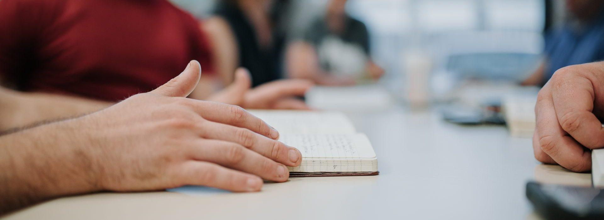 faith in God's Word, hands on Bible
