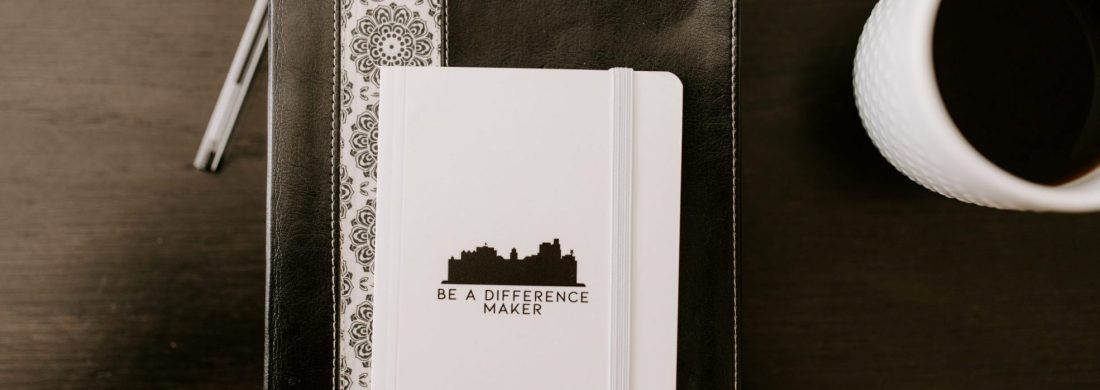 bible and be a difference maker notebook