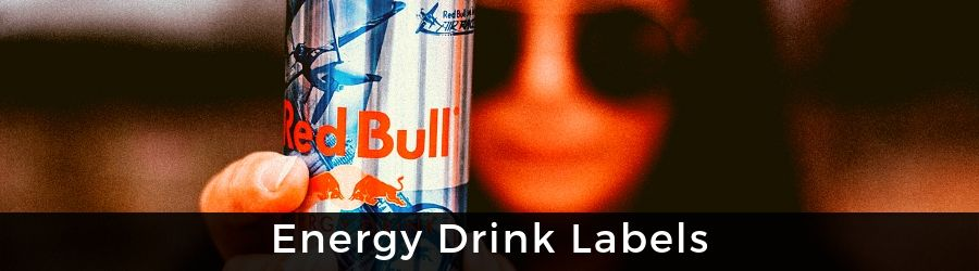 View Energy Drink Labels