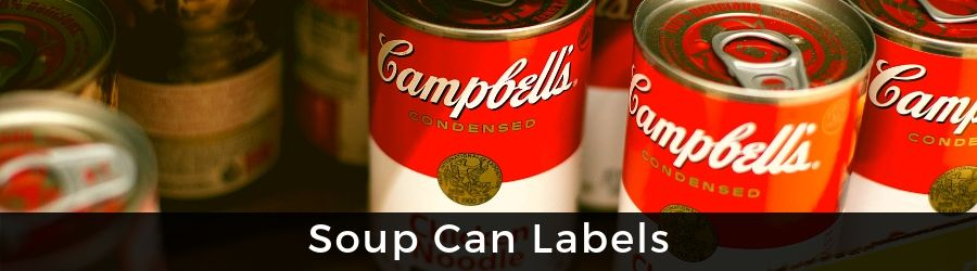 View Soup Can Labels