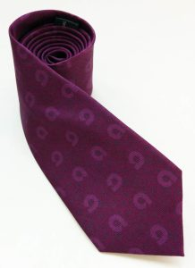 Ally Bank printed silk tie