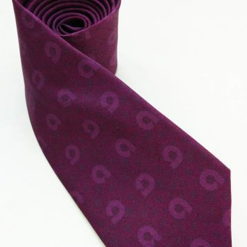Ally Bank printed silk tie