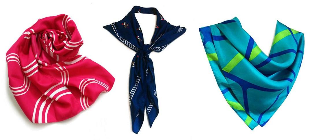 Custom scarf banner