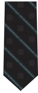 Ceòl Nèamh Pipe Band tie design