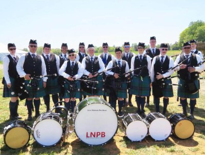 Loch Norman Pipe Band