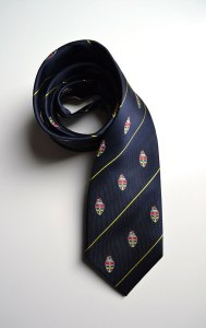 Christ Church Georgetown, woven, silk, tie