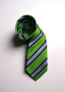 green, stripes, woven, silk, tie, gray, blue