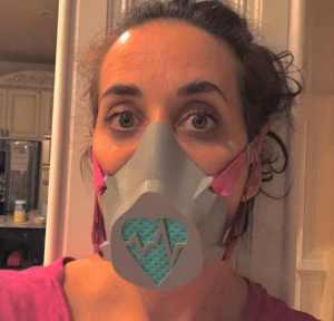 cool mask designs 3D printed respirator mask
