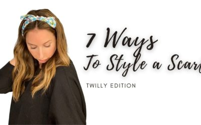7 Ways to Style a Scarf for Work, Life, and Brunch: Twilly Scarf Edition