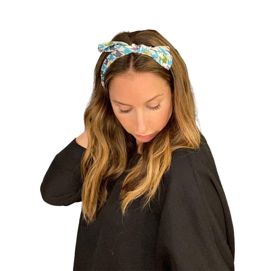 how to scarf styles headband