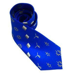 IEEE Power Electronics Society printed silk tie