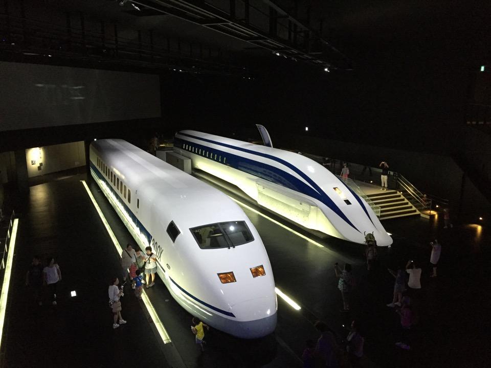 リニア新幹線に乗って