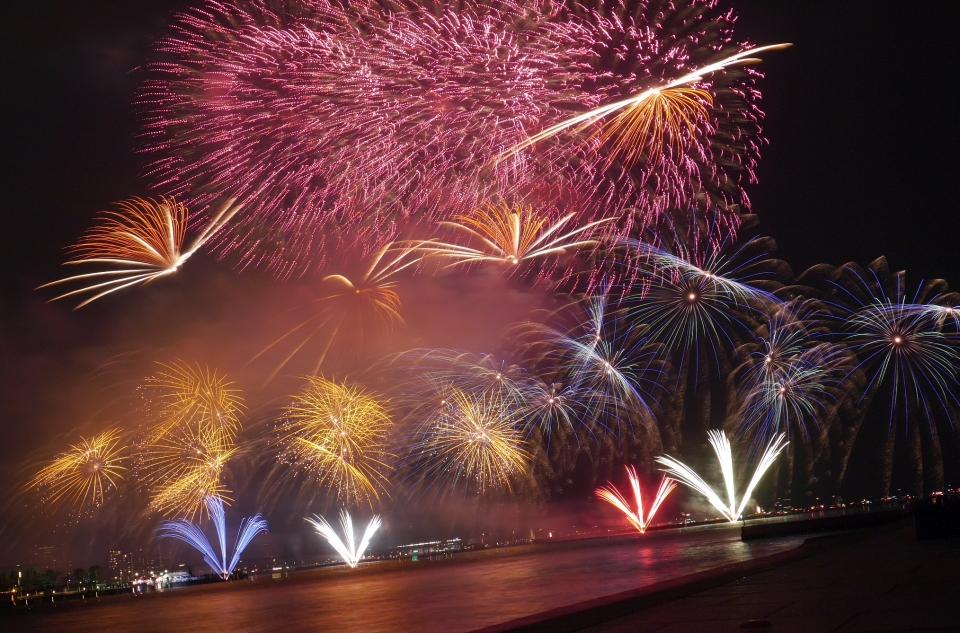 関西最大の花火大会