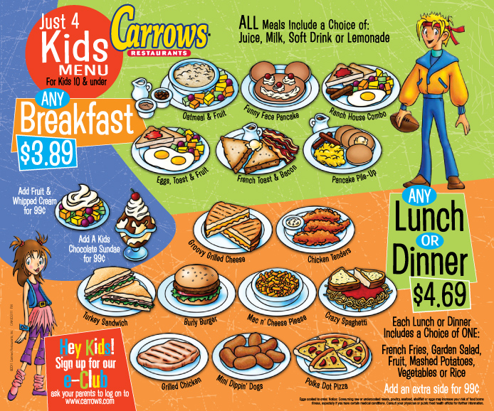 Kid Friendly Lunch Restaurants